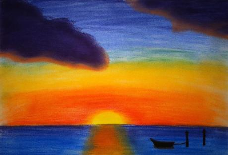 March 18, 2012 - soft chalk pastels