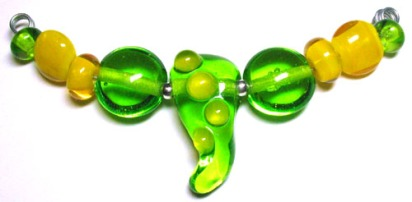 squiggly light green slimer - top view 2